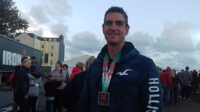 David Coates – Tenby Iron Man Challenge