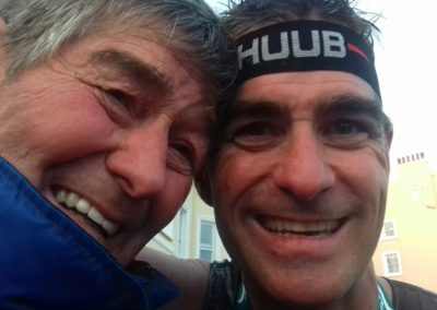 David (Ironman) Coates and his proud Dad John