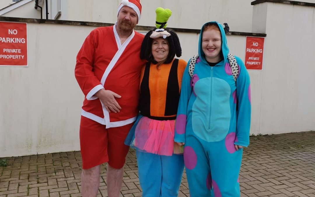 A chilly New Year dip kicks off the start of LLMF 2019 fundraising