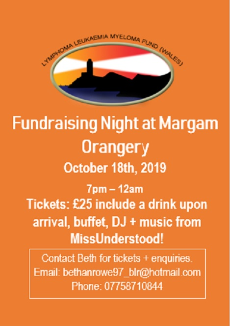 Fundraiser at Margam Orangery