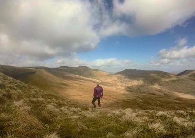 Becca in The Beacons